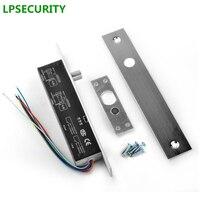 NO NC Electric Drop Bolt Door Lock DC 12V Electric Lock Fail Safe Secure For Door