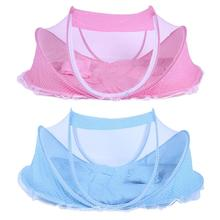 Netting-Bed Baby-Care Crib for Pillows Sleep-Cushion Insect Folding Anti-Mosquito Collapsible