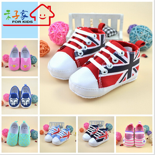 Hot Sale High Quality Soft Bottom Baby Shoes Infants Girl Boy Sport Shoes Sneaker Toddle ...