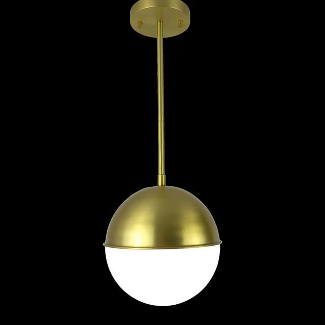 200mm Durchmesser Glas Pendelleuchte Edison Birne Fuhrte Vintage