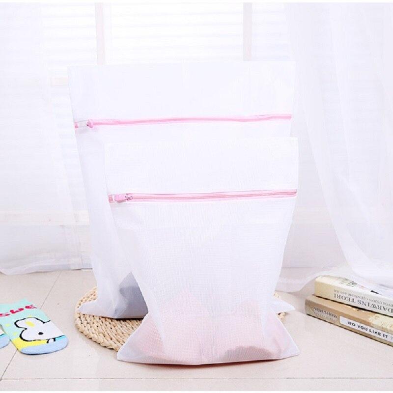 3pcs/set S/M/L Clothes Washing Machine Laundry Bra Aid Lingerie Mesh Net Wash Bag Pouch Basket WA0662