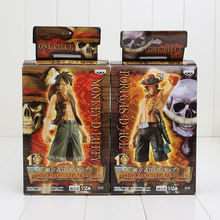 Luffy and Ace Action Figure (2 Pieces/Set)