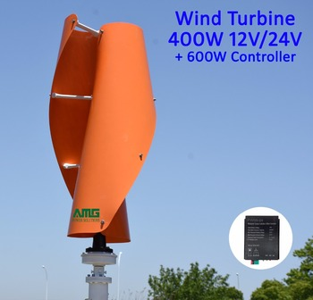 Everything Is Small Wind™ VAWT Helix Vertical Wind Turbine