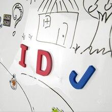 60*50 см гибкие мягкие детские магнитные листы для маркерной доски портативная стираемая белая доска набор для рисования Офис OWS003 живопись холст
