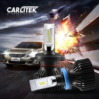 1 Pair Super Bright H4 Led Bulb Canbus 50W 5000Lm Auto Headlights H1 H7 H11 12V