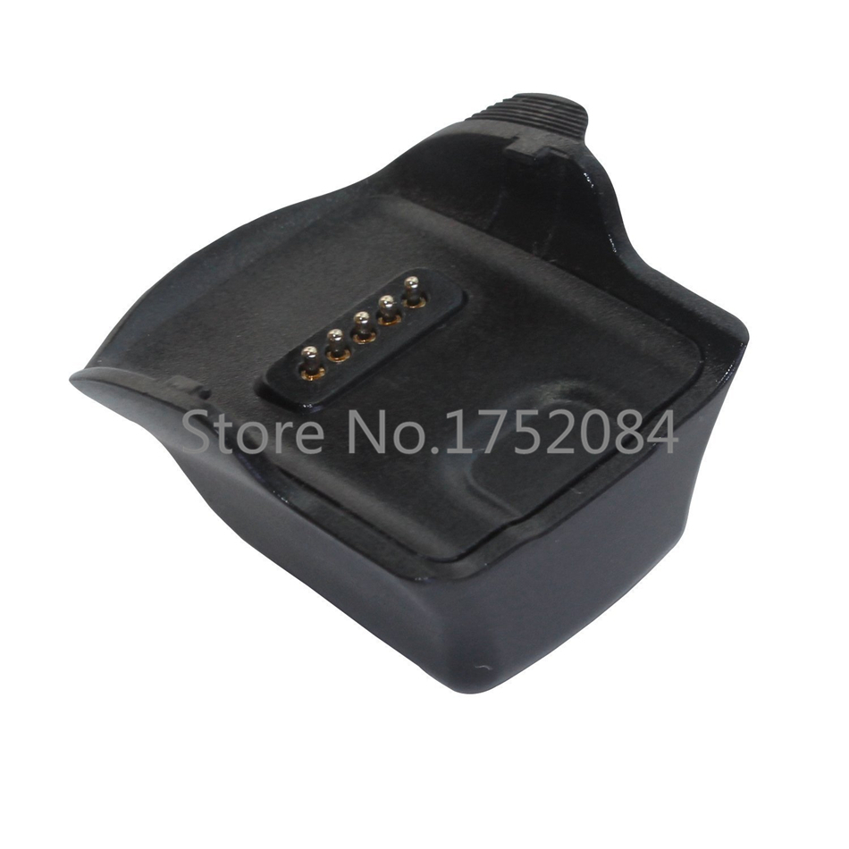 Black Charger Charging Cradle Dock for Samsung Galaxy Gear Fit R350 Smart Watch