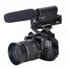 TAKSTAR SGC-598 Fotografia Entrevista Shotgun MIC Microfone para Nikon Canon DSLR Camera com Pele Wsheild (Com Pele Windsheild)
