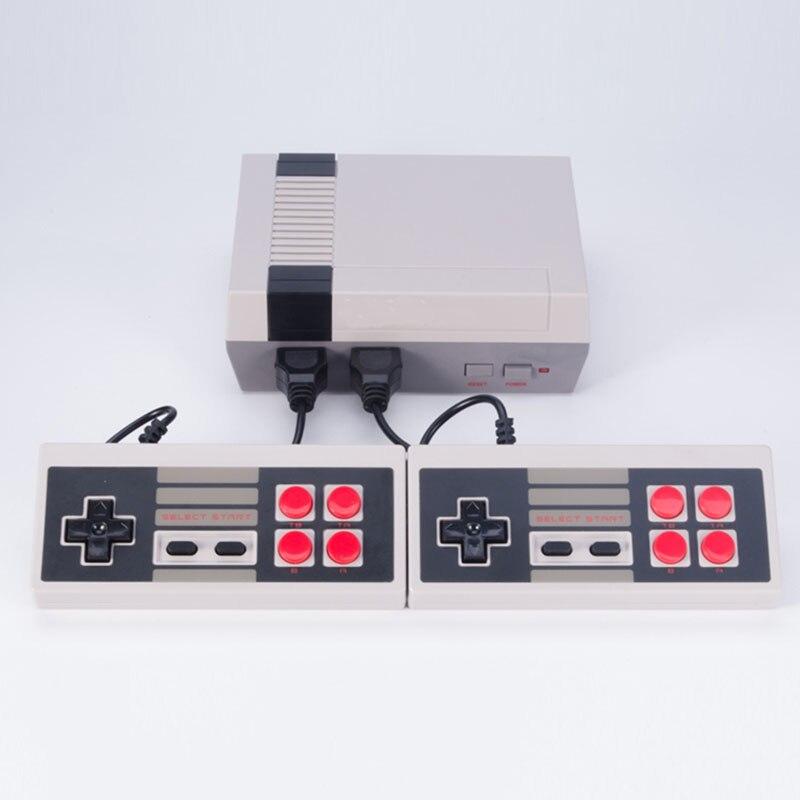 AV Output Mini TV Handheld Game Console Video Game Console with 600 Games 8 Bit games Built-in for  TV PAL & NTSC