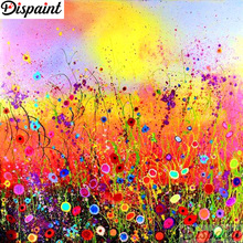 Dispaint Full Square/Round Drill 5D DIY Diamond Painting Oil painting flower Embroidery Cross Stitch 3D Home Decor Gift A16778