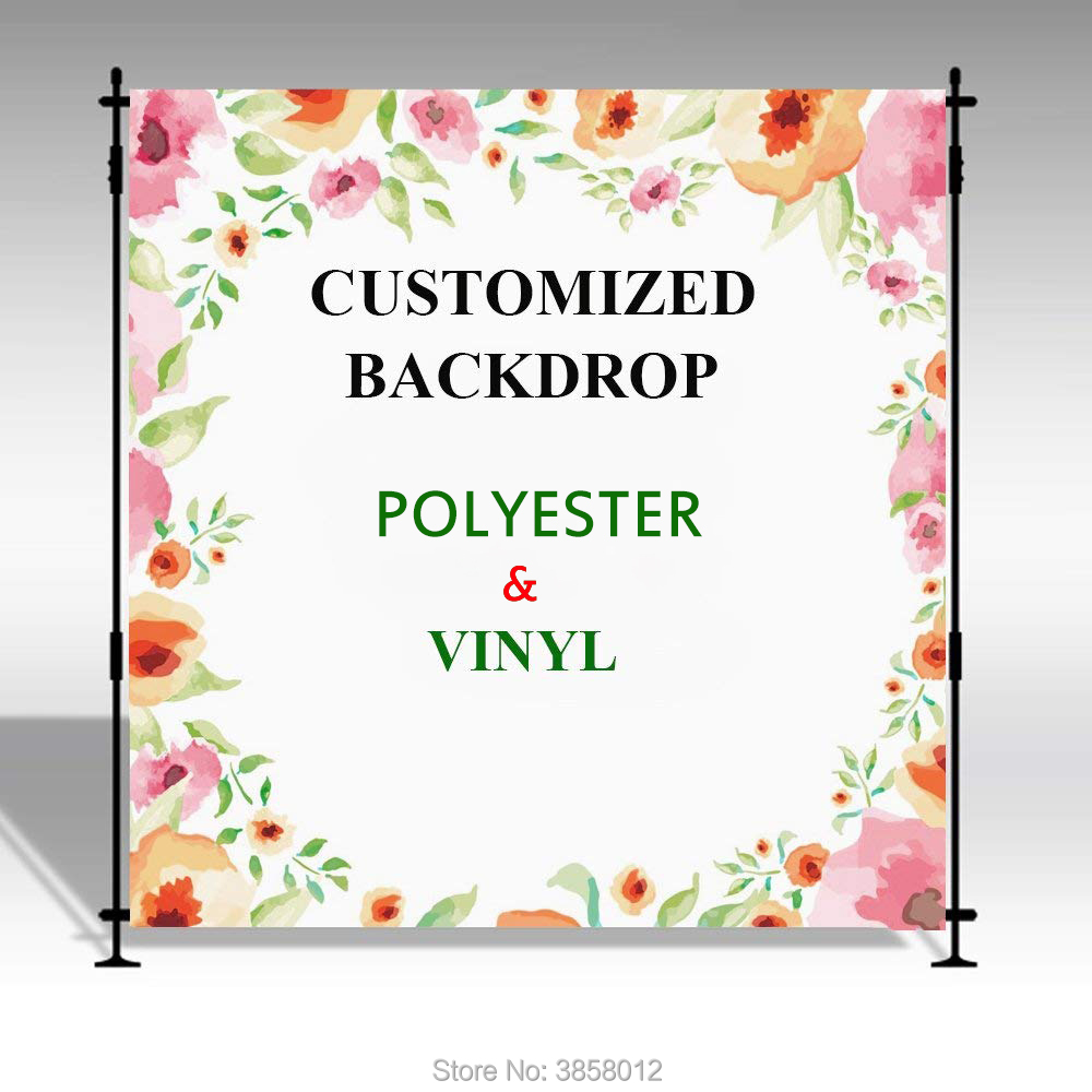 Mehofoto Bridal Shower Large Wedding Floral Wall Backdrop White And