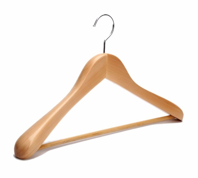 If you have a large number of hangers that aren't in use that you need to store – it seems to me that the best option is to purge the extra hangers. If you can't store the empty hangers on the rod because your closet is stuffed, then you need to purge your wardrobe.