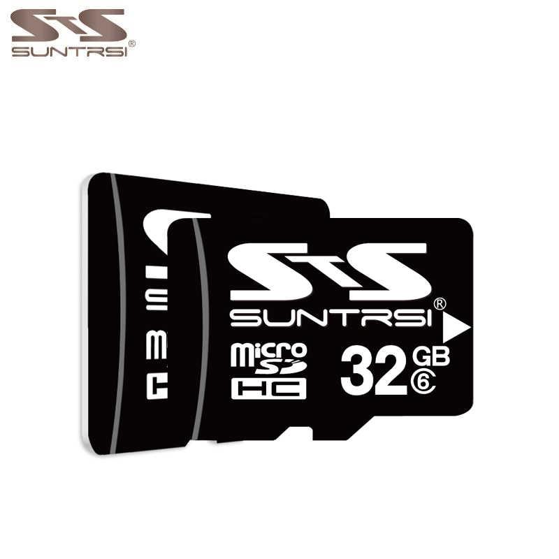 Suntrsi Micro SD карта 32 ГБ 16 ГБ 8 GB 4 ГБ карты памяти Micro SD карты памяти высокой Скорость карта Micro SD класса 6 для телефона Камера Бесплатная доставка