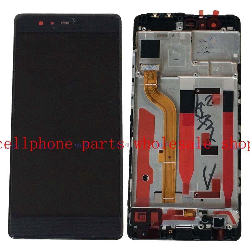 5.2For Huawei Ascend P9 EVA-L09 EVA-L19 LCD Display Screen+Touch Screen Digitizer Frame Aassembly replacement Pantalla