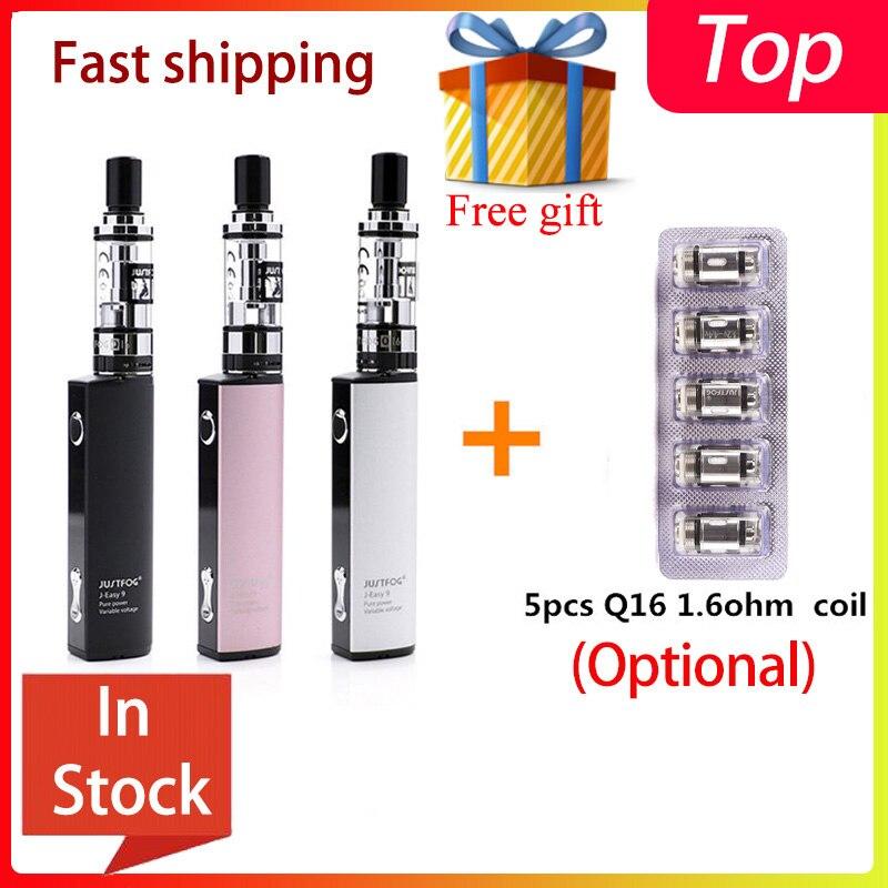 Bigsale original justbrouillard Q16 Kit de démarrage ajustement justbrouillard q16 bobine nouvelle Cigarette électronique Vape stylo Kit avec clearomizer Q16