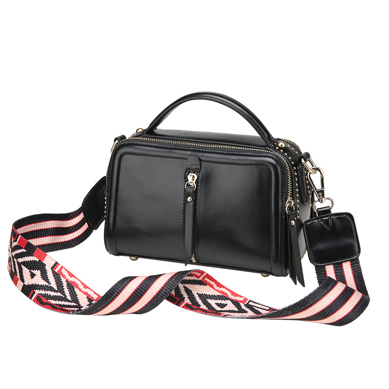 women bag Double zipper Messenger Bags Leather Handbags female tote Crossbody Shoulder bags ladies hand bag purse bolsa feminina female messenger bags feminina bolsa leather old handbags women bags designer ladies shoulder bag