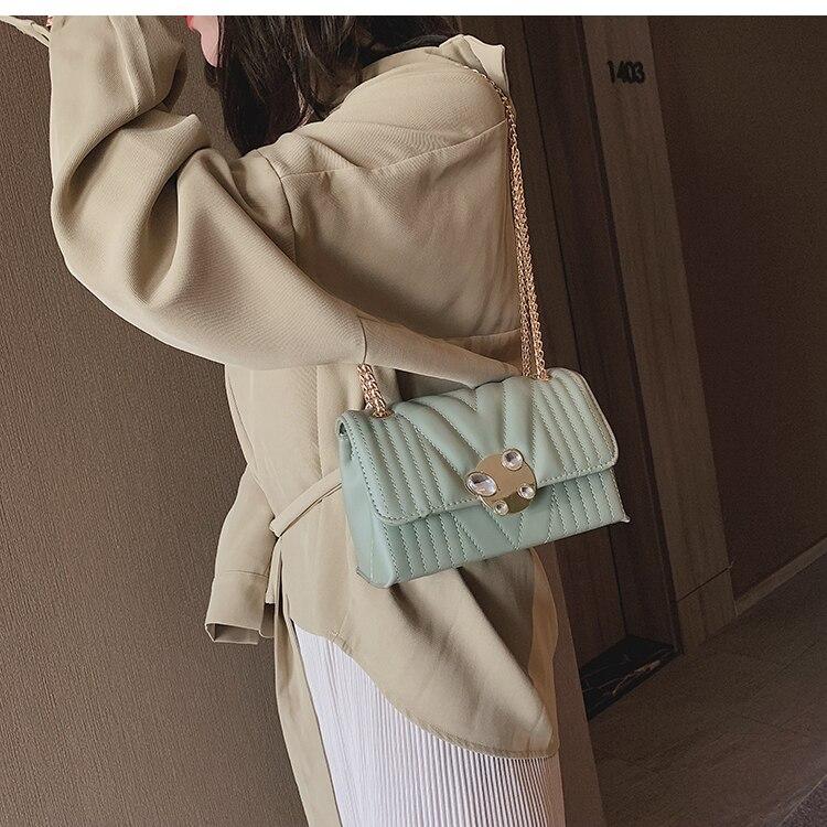 newest fashion bags bag women chain shoulder crossbody bag women's handbags (20)