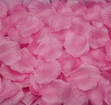 100pcs Silk Rose Flower Petals Leaves Wedding Decoration Artificial Fake Flower Petal Table Confetti Wedding Supplies 5Z-HD008-1