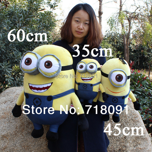 3D Despicable ME,Giant Toy Minions Plush Stuffed Doll,Can ...