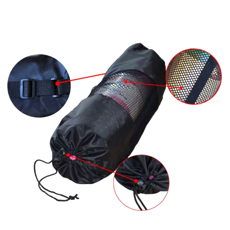 New New Yoga Backpack Case Bag Waterproof Yoga Pilates Waterproof Yoga Bag Gym Bag Carriers 6-10mm yoga Mat Not Including