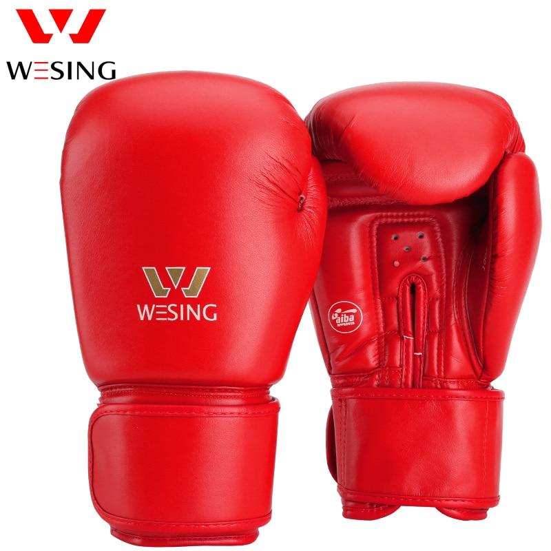 AIBA aprobó guantes de boxeo 10 oz 12 oz hihg quanlity micro guantes - Ropa deportiva y accesorios - foto 4
