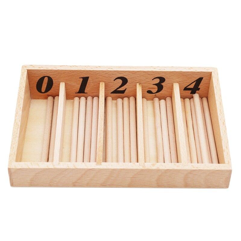 Nova chegada montessori matemática brinquedos montessori materiais