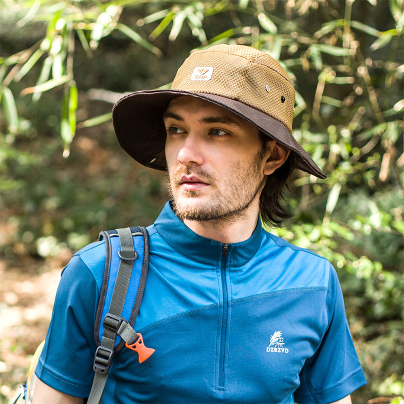 e9152eb09db1e 2015 New Summer Fashion Camping Hiking Fishing Outdoor Bucket Hat Cap Mens  Hats Sun Casual Caps-in Bucket Hats from Apparel Accessories on  Aliexpress.com ...