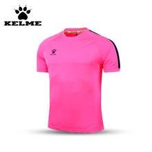 80bb82c9a0 Oficial autêntico espanha kelme homens jérsei de futebol de manga curta  esporte formação survêtement football camisa
