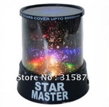 Free shipping, 2011 NEW Amazing LED Star Master Light Lighting Projector exquisite gifts
