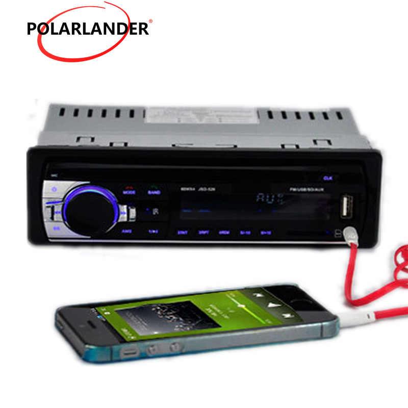 Bluetooth Autoradio Auto MP3 Speler Fm Stereo Handsfree Usb Aux Sd Auxine Map Play Functie Afstandsbediening Universele 1 din