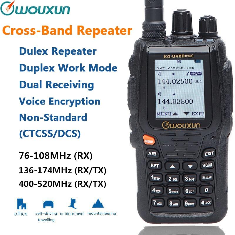 Ltd. Wouxun KG-UV8D Plus Dual-Band Two Way Radio Quanzhou Wouxun Electronics Co