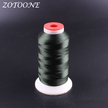 ZOTOONE Sewing Thread Polyester Hand Quilting DIY Accessories Supplies Embroidery Leather Fabric For Home E