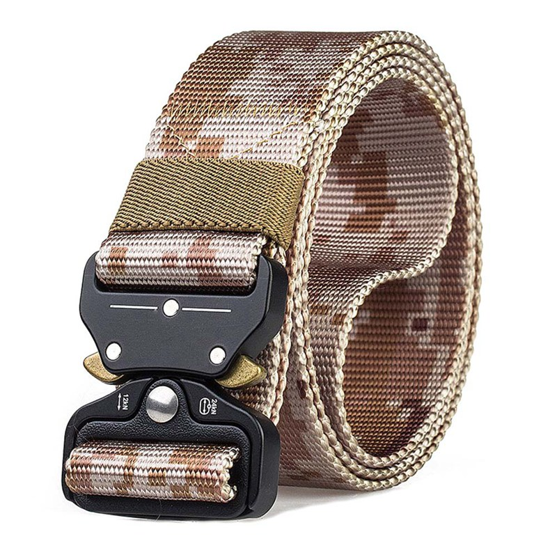 Military Equipment Army Belt Men's Heavy Duty Soldier Combat Tactical Belts 100% Nylon Waistband New Arrival