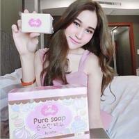 Thailand Pure Soap Whitening Skin Aging Gluta Anti Body Beauty Lightening Jellys White Skin Whitening Soap
