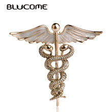 Enamel Brooch Shoulder Blucome Clips Clothes-Accessories Pins Scarf Party Girls Women