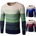 Novo 2016 Da Marca Camisola dos homens de Roupas Outono Inverno O-pescoço desgaste Kint Pullover Natal Dos Homens Blusas de Alta Qualidade Para Homens homem