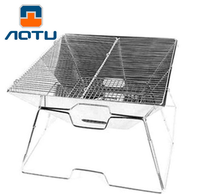 все цены на AOTU Stove Outdoor Camping Wood Stove New Convex Stainless Steel Grill Bbq Charcoal Carbon Furnace Oven Camping Accessories 305 онлайн