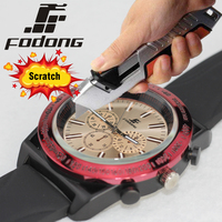 2017 Fodong Round Shape Electronic Wrist Quartz Watches Fashion Business Reloj Digital Hombre High Quality Anti