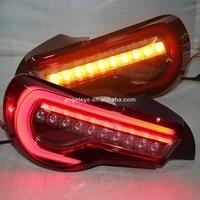 2012 2014 год для TOYOTA GT86 FT86 Светодиодные ленты сзади свет красного цвета YZ