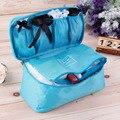 Waterproof Women Girl Lady Portable Travel Bra Underwear Lingerie Organizer Bag Cosmetic Makeup Toiletry Wash Storage Case 45