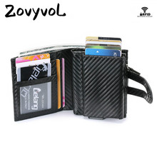 все цены на ZOVYVOL Wallets Female High Quality Clutch Money Bag Short Wallet Men Purses Fashion Coin Purse Card Holder PU Leather Wallet онлайн