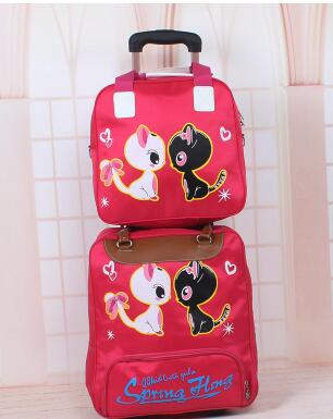 Women Travel Trolley Bags Set Wheeled Suitcase For Men Luggage Travel Bag Suitcase Rolling  Travel Bag On Wheels With Handbag