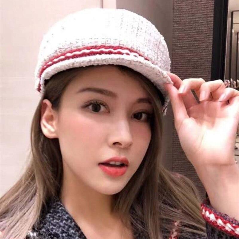 01808-baoliu-sailor High quality different other factory white lady sailor cap women leisure hat