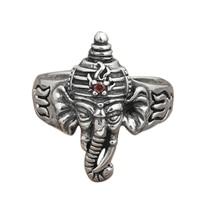 925 Sterling Silver Ganesh Ring