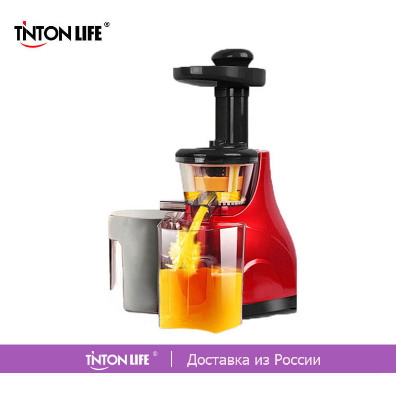 TINTON LIFE Home Vegetable Fruit Juicers Machine Lemon juicer Electric Juice Extractor 100% Original Household Slow Juicers electric orange fruit juicer machine blender extractor lemon juice