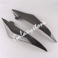 Carbon Fiber Tank Side Covers Panel Fairing for Yamaha YZF R6 2008 2009 2010 2011 2012 2013 2014 2015 Motorcycle Side Lining