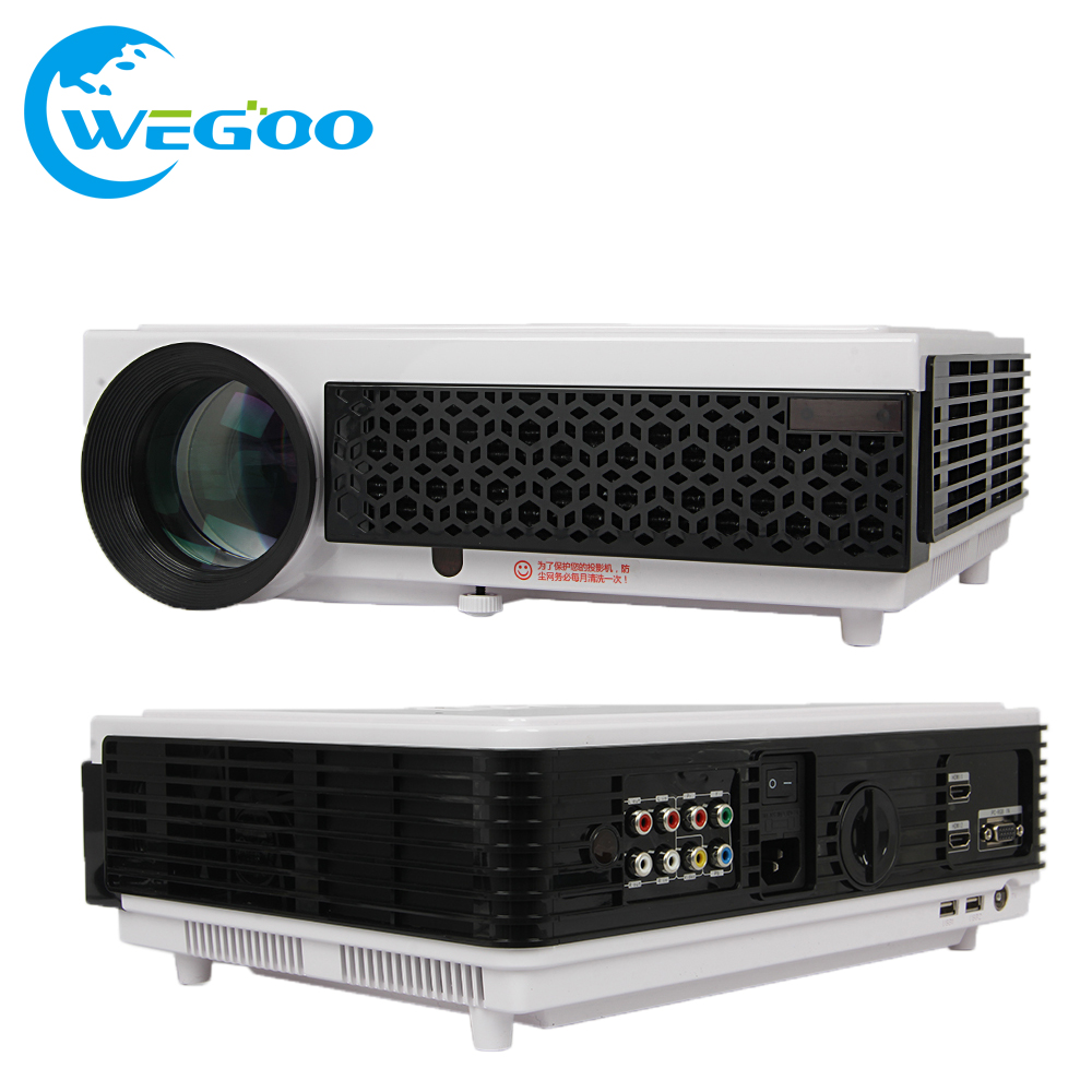 2017 LED96 proyector 1280 800 Support Full HD 1080p Video 3D LED Home theater Projector 3000lms