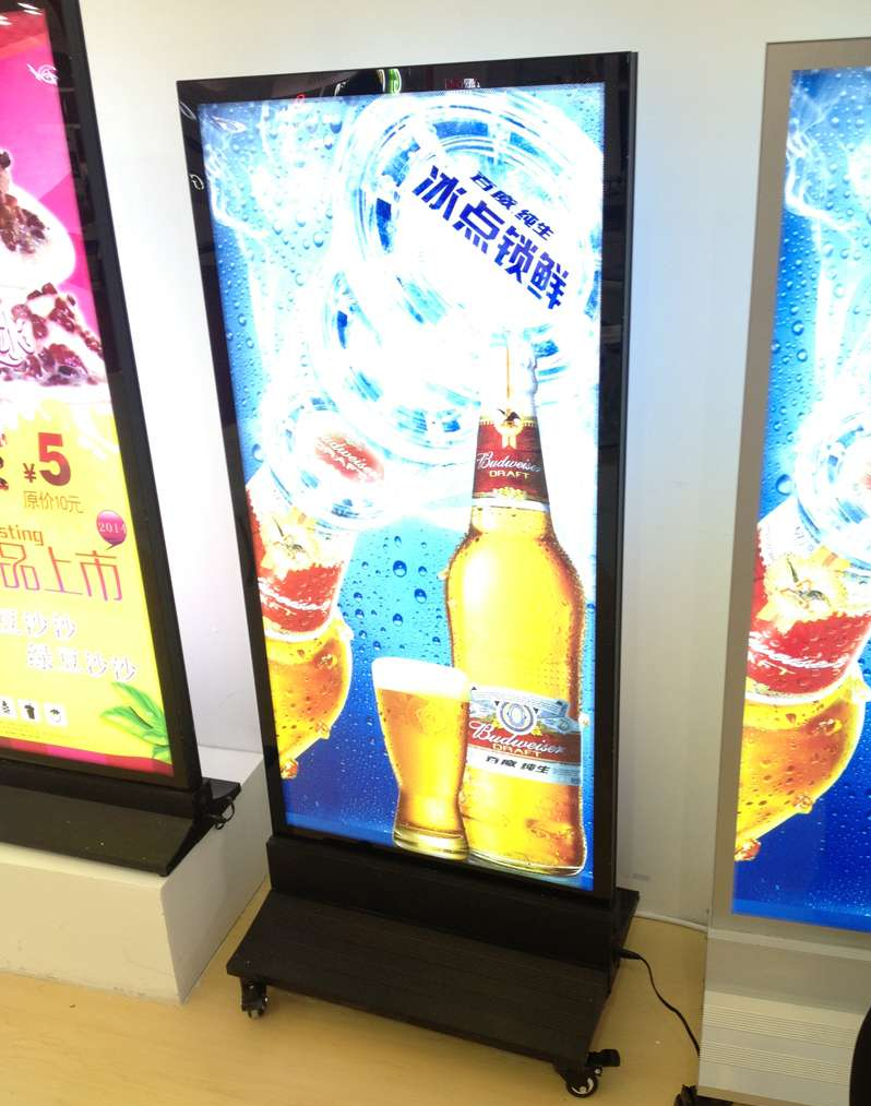 Exhibition Stand Light Boxes : Led light box display stand lighting ideas