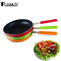 Runbazef Non Stick Lampblack Frying Pan Cast Iron Induction Cooking Gourmet Oven And Dishwasher Frigideira Book