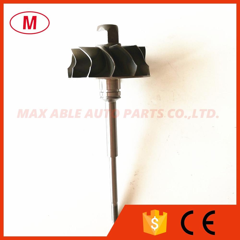 K04 53049880064 53049870064 Turbo Turbine Shaft Wheel Turbine Wheel 44 50 50 00mm12 blades for S3