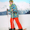 For -30 Degree Warm Coat Sporty Ski Suit Waterproof Windproof Boys Girls Jackets Kids Clothes Sets Children Outerwear For 3-16T